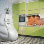 Необычный холодильник