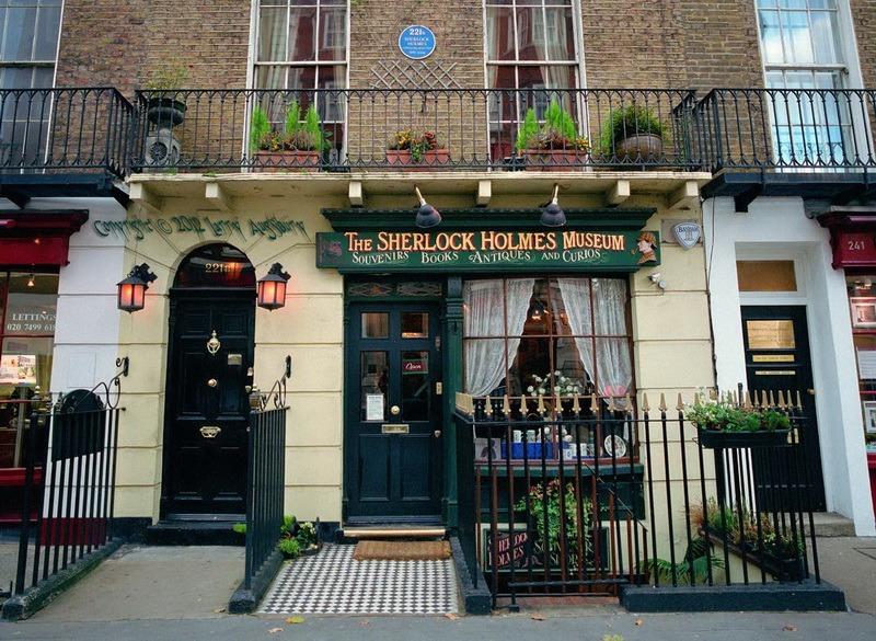 Лондон. Бэйкер стрит 221-Б