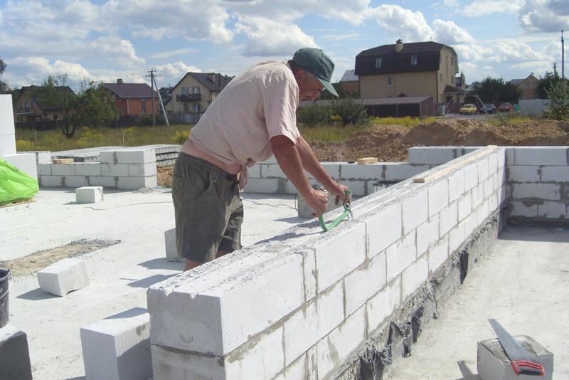 Как строить из газоблока