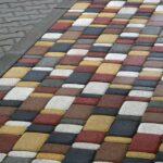 Гумова тротуарна плитка